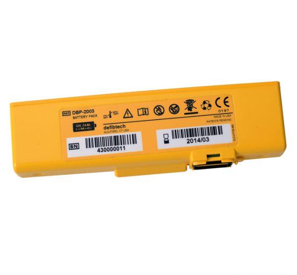 Batterie Defib Defibtech View