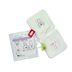 Defibrillationselektrodensatz Zoll AED plus /pro Pedi-padz II